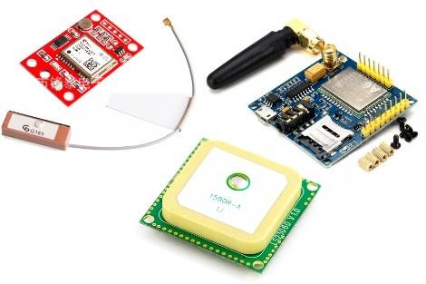 GSM, GPS