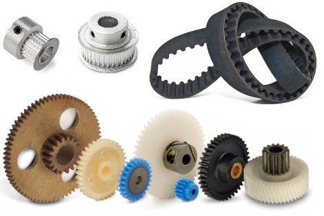 Gear, Pulley, Belts