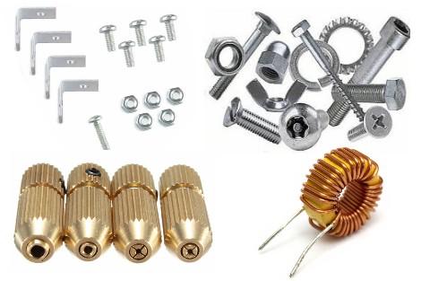 Mechanical parts, Inductors