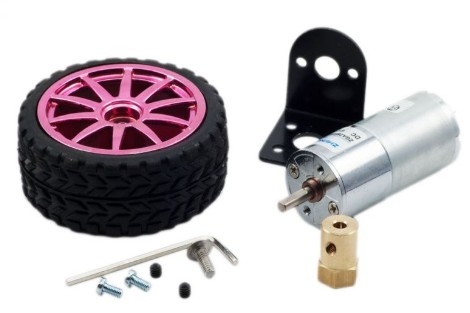 Motors with Wheels