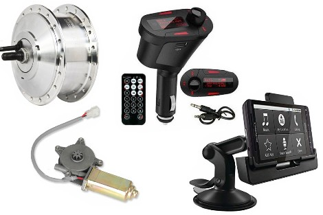 Electric, Vehicle accessories