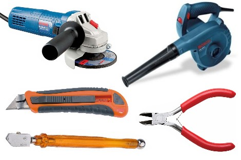Blower,cutter and Tools