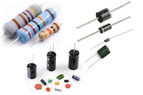Capacitor,Resistors, Diode