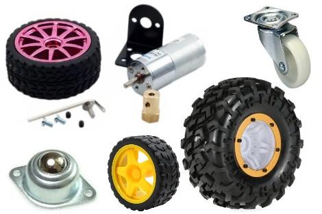 Motors plus wheel